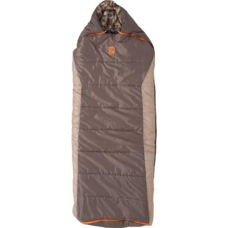 0°F Wheeler Lake Sleeping Bag - Rectangular, Regular (For Men and Women) - TAN ( )