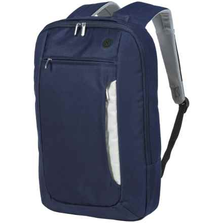 1 Voice Sentinel RFID Backpack - Laptop Sleeve in Blue - Closeouts
