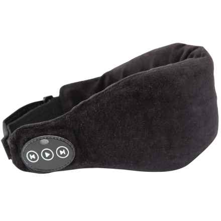 1 Voice Sleep Bluetooth® Headphones Eye Mask in Black - Closeouts