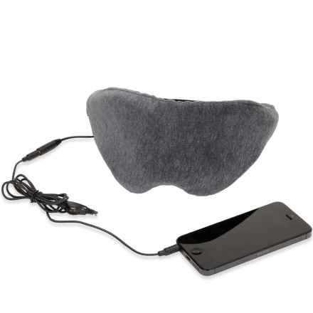 1 Voice Sleep Headphones Eye Mask in Grey - Closeouts