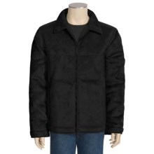 10,000 Feet Above Sea Level Pacific Teaze Jacket - Faux-Suede, Sherpa Lined (For Men) in Black - Closeouts