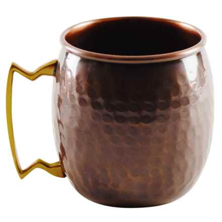 10 Strawberry Street Copper Moscow Mule Mug - 16 fl.oz. in Antique - Closeouts