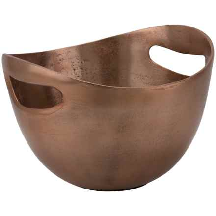 10 Strawberry Street Lodo Cutout Handle Bowl in Copper - Closeouts