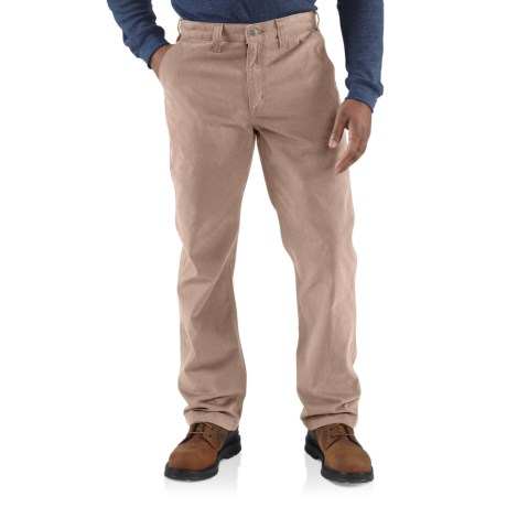 Image of 100095 Rugged Work Khaki Pants - Relaxed Fit, Factory Seconds (For Men) - FIELD KHAKI ( )