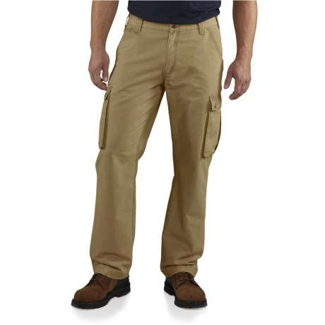 100272 Rugged Cargo Pants - Relaxed Fit (For Men) - DARK KHAKI ( )
