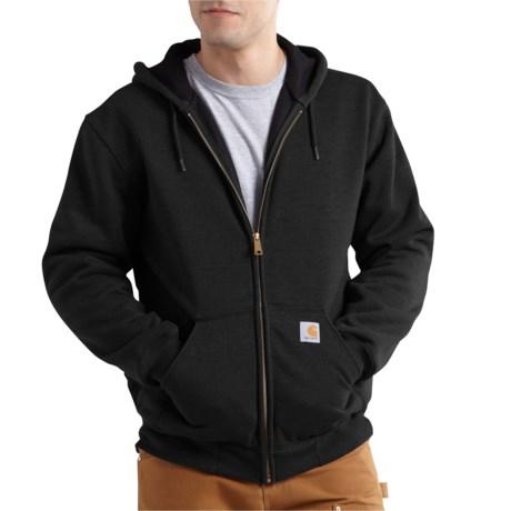 100632 Rain Defender(R) Rutland Thermal-Lined Hoodie - Full Zip, Factory Seconds (For Big and Tall Men) - BLACK (3XL ) thumbnail