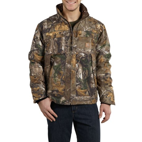 101444 Quick Duck(R) Rain Defender(R) Traditional Jacket - Insulated (For Men) - REALTREE XTRA (M ) thumbnail