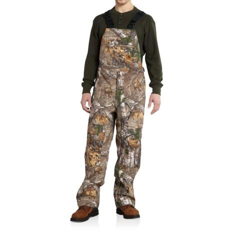 101498 Camo Shoreline Bib Overalls - Factory Seconds (For Men) - REALTREE XTRA (M ) thumbnail