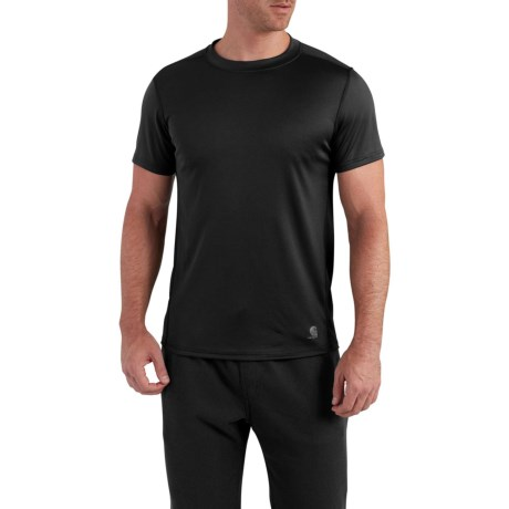 101569 Base Force Extremes(R) Base Layer Top - Short Sleeve (For Men) - BLACK (M ) thumbnail