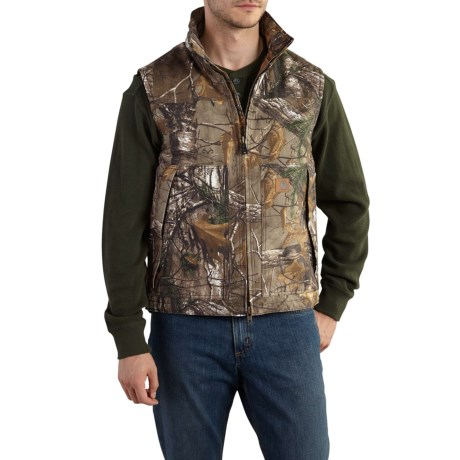 101686 Quick Duck(R) Camo Vest - Insulated (For Men) - REALTREE XTRA (M ) thumbnail