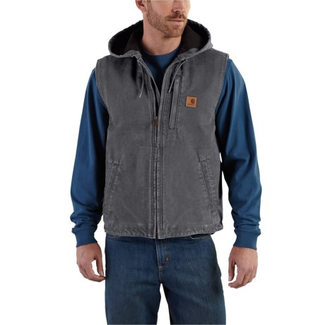 101687 Knoxville Fleece-Lined Vest (For Big and Tall Men) - 029 SHADOW (3XL ) thumbnail