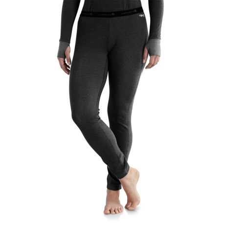 101714 Base Force(R) Cold-Weather Base Layer Pants - Factory Seconds (For Women) - BLACK (XS ) thumbnail