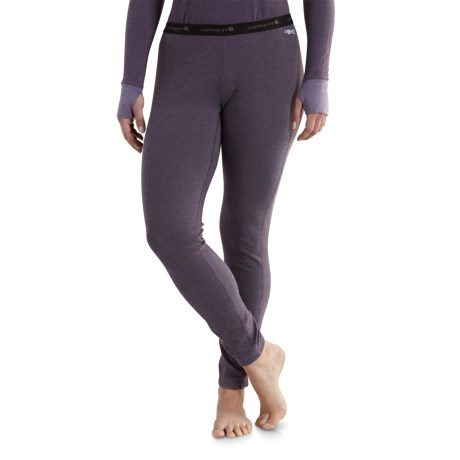 101714 Base Force(R) Cold-Weather Base Layer Pants (For Women) - PLUM (2XL ) thumbnail