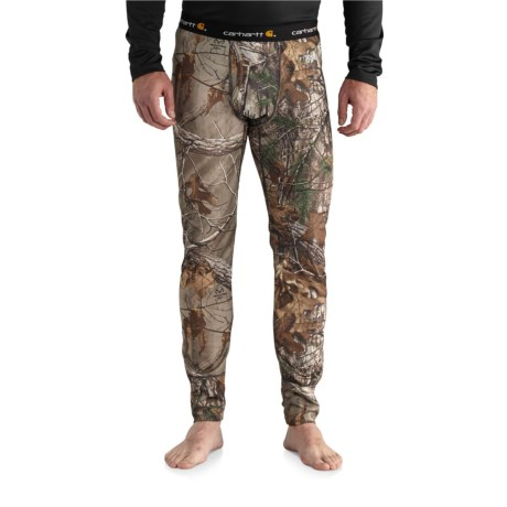 102225 Base Force(R) Extremes Cold-Weather Base Layer Pants (For Men) - REALTREE XTRA (XL ) thumbnail