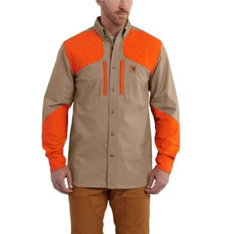 e96799c4c8dd5 102258 Upland Quick Duck Canvas Field Shirt - Long Sleeve, Factory Seconds  (For Men
