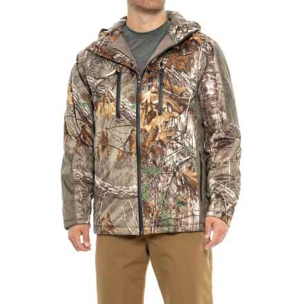10X Silent Quest Scentrex® Hunting Jacket - Insulated (For Men) in Realtree Extra - Closeouts