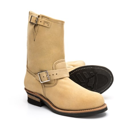 Image of 11? Engineer Boots - Suede, Factory 2nds (For Men)