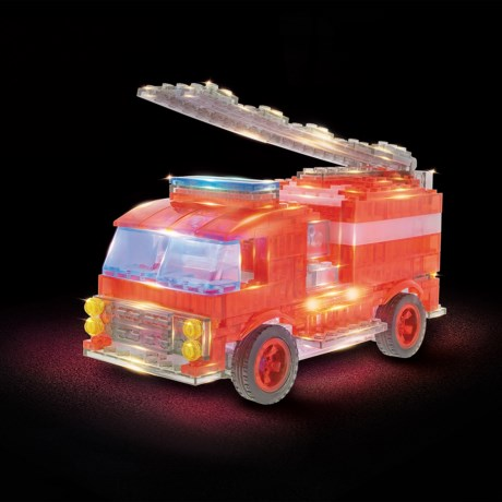 Image of 12-in-1 Fire Truck Kit - 173-Piece