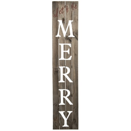 Image of 12x60? Let?s Be Merry Wall Decor