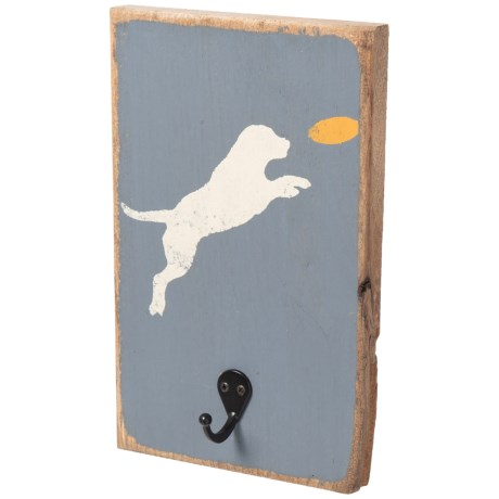 Image of 12x8? Wood Leash Hook Art