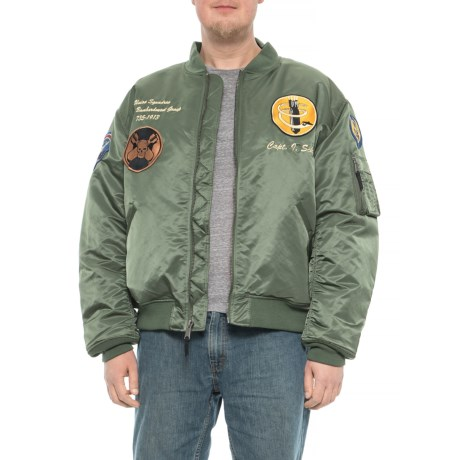 Image of 13th Bombardment Group MA-1 Jacket - Insulated (For Big and Tall Men)