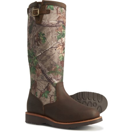 17? Clover Snake Boots - Pull-Ons (For Men) - TAN APACHE/REAL TREE GREEN CAMO (8 ) thumbnail