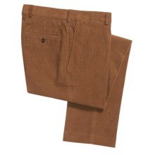 18-Wale Corduroy Pants - Slim Fit (For Men) in Umber - 2nds