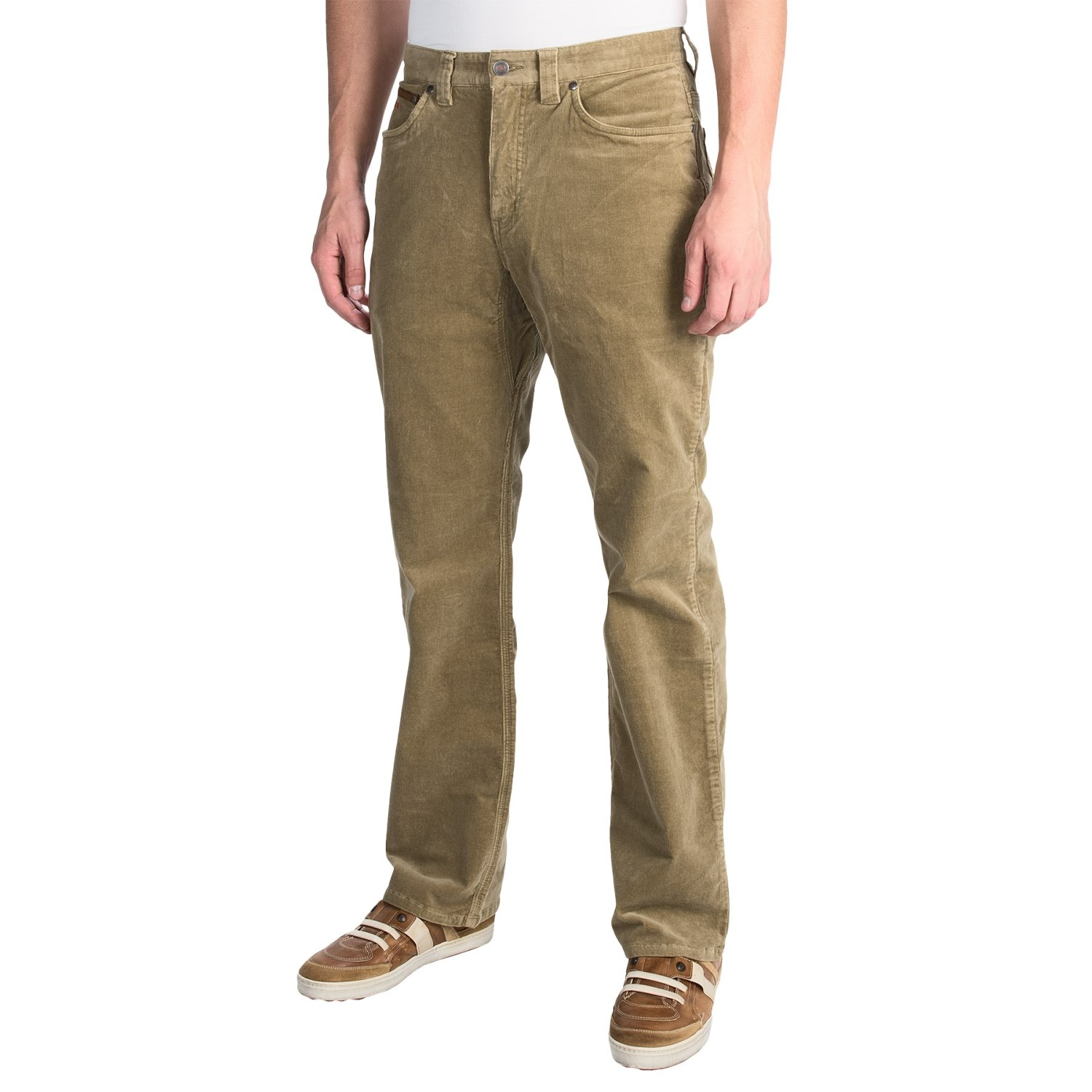 Relaxed Fit Corduroy Pants - White Pants 2016