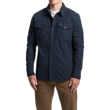 1816 by Remington Chamois Shirt - Long Sleeve (For Men) in Navy - Closeouts