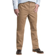 1816 by Remington Cotton Twill Canvas Pants - Relaxed Fit (For Men) in Khaki - Closeouts