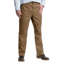 1816 by Remington Cotton Twill Canvas Pants - Relaxed Fit (For Men) in Teak - Closeouts