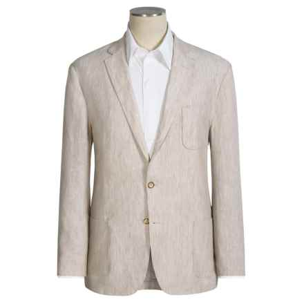 1816 by Remington Havana Linen Sport Coat (For Men) in Natural - Closeouts