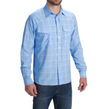1816 by Remington Kodiak Coast Shirt - UPF 30+, Long Sleeve (For Men) in Sky Blue Plaid - Closeouts