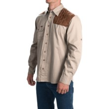 1816 by Remington Left-Handed Shooting Shirt - Long Sleeve (For Men) in Khaki - Closeouts