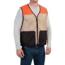 1816 by Remington Mesh Hunting Vest (For Men) in Khaki/Dark Brown - Closeouts