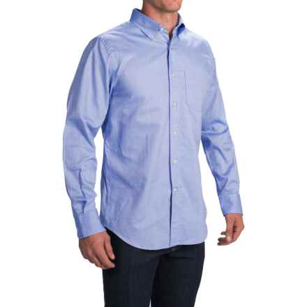 1816 by Remington Oxford Button-Down Shirt - Long Sleeve (For Men) in Blue - Closeouts