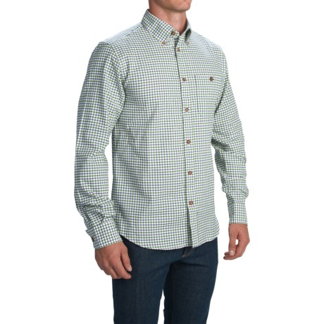 1816 by Remington Sawyer Tattersall Shirt Long Sleeve (For Men)