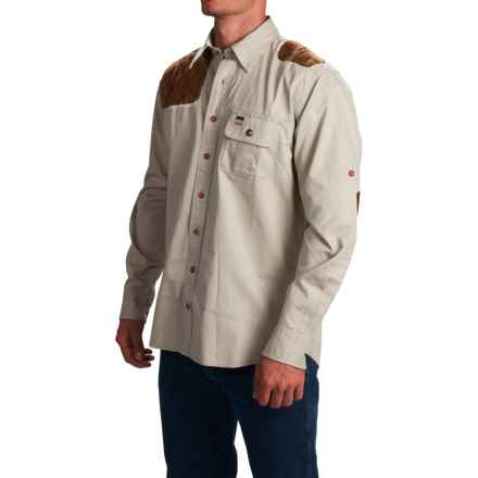 1816 by Remington Shooting Shirt - Long Sleeve (For Men) in Khaki - Closeouts