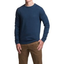 1816 by Remington Spring Creek Sweater - Merino Wool, Crew Neck (For Men) in Navy - Closeouts