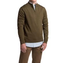 1816 by Remington Spring Creek Sweater - Merino Wool, Zip Neck, Long Sleeve (For Men) in Teak - Closeouts
