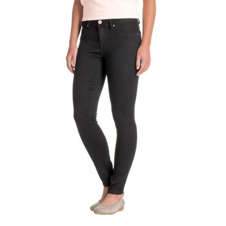 1822 Denim Butter Skinny Ankle Jeans (For Women) in Black