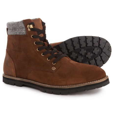 1830 Uncharted Boots - Suede (For Men) - BROWN (9 )