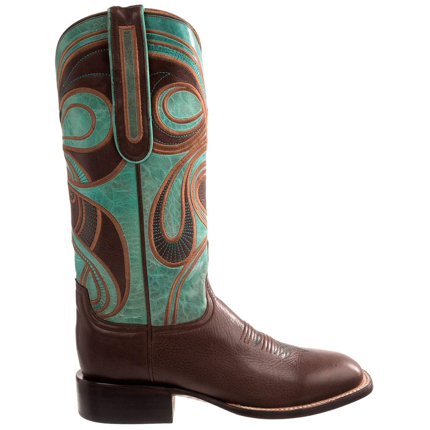 1883 By Lucchese Hypnotic Swirl Cowboy Boots For Women 8271j