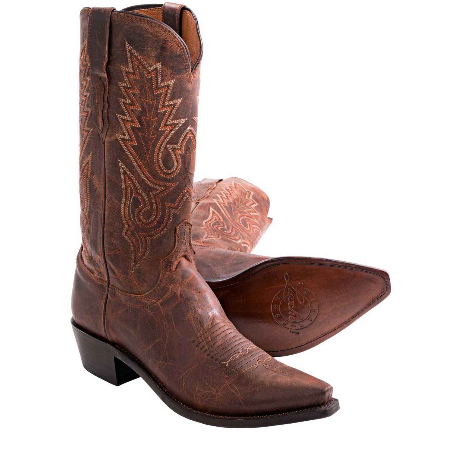 1883 by lucchese madras goat cowboy boots for