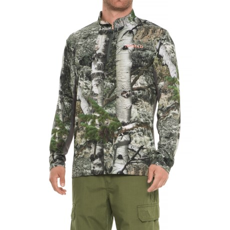 Image of 1/4 Zip Shirt - Long Sleeve (For Men and Big Men)
