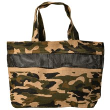 """2 Chic Luxe by Muche et Muchette Alexandria Bag - 22x14"""" in Camouflage - Closeouts"""