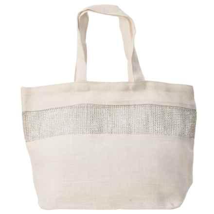 "2 Chic Luxe by Muche et Muchette Alexandria Bag - 22x14"" in White - Closeouts"