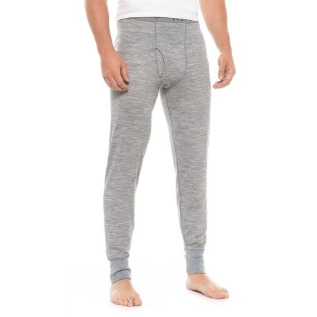 Image of 2-Layer Base Layer Pants - Merino Wool Blend (For Men)