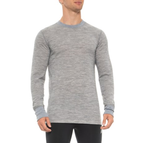 Image of 2-Layer Base Layer Top - Merino Wool Blend, Long Sleeve (For Men)