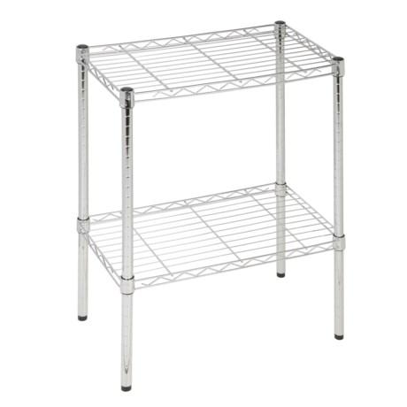 Image of 2-Tier Chrome Utility Shelf